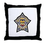 Baja Highway Patrol Throw Pillow