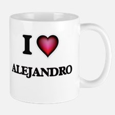 I love Alejandro Mugs