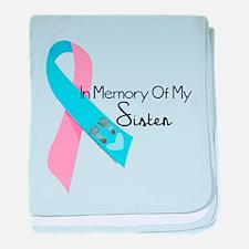 In Memory - Sister baby blanket