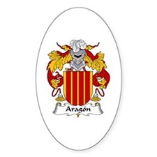 Aragón Oval Decal