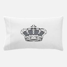 Crown - Grey Pillow Case