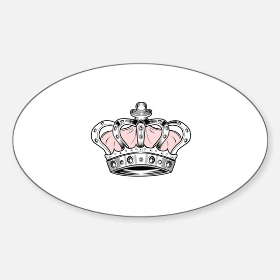 Crown - Pink Decal