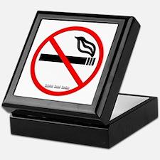 No Smoking Keepsake Box