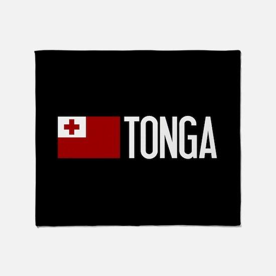 Tonga: Tongan Flag & Tonga Throw Blanket