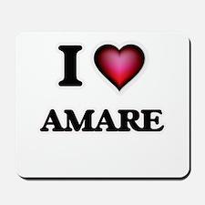 I love Amare Mousepad