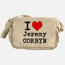 I heart J Corbyn Messenger Bag
