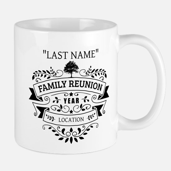 Custom Family Reunion Mug