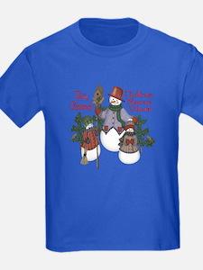 Gaelic Christmas Family T