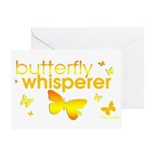 Butterfly Whisperer Greeting Card