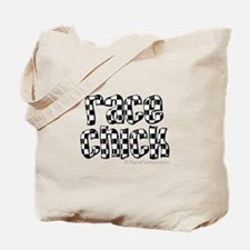Race Chick Tote Bag