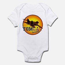 f-14 tomcat farewell Infant Bodysuit