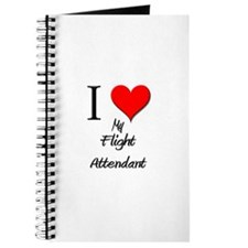 I Love My Flight Attendant Journal