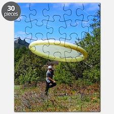 Unique Disc golf Puzzle