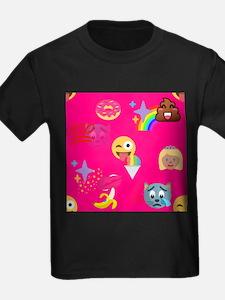 hot pink emoji T-Shirt