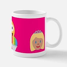hot pink emoji Mugs