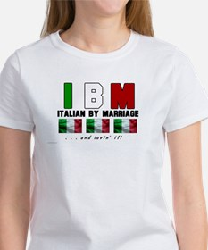 Italian By Marriage - and lov Tee
