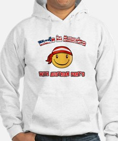 Made in America with Austrian parts Hoodie