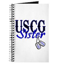 USCG Sister Dog Tag Journal