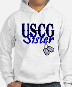 USCG Sister Dog Tag Jumper Hoody