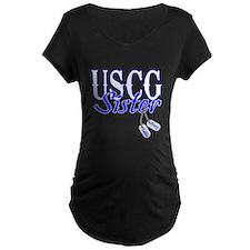 USCG Sister Dog Tag T-Shirt
