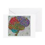 Neural Dream 1 Greeting Cards