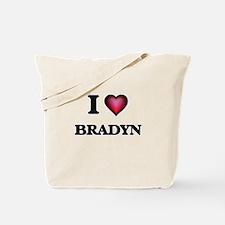 I love Bradyn Tote Bag