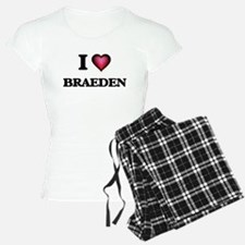 I love Braeden Pajamas