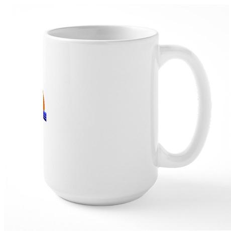 Its Better in Roatan, Hondura Large Mug