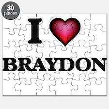 I love Braydon Puzzle