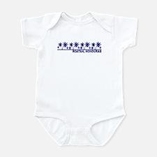 Roatan, Honduras Infant Bodysuit