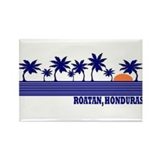 Roatan, Honduras Rectangle Magnet