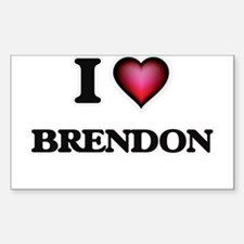I love Brendon Decal