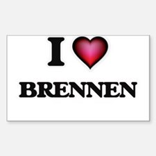 I love Brennen Decal