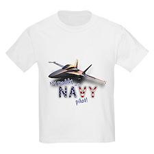 Daddy Navy Pilot (F-18) T-Shirt
