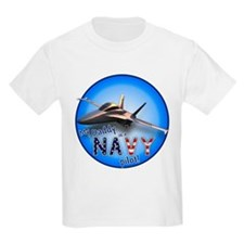 Daddy Navy Pilot (F-18)bc T-Shirt