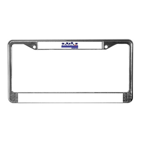 Honduras License Plate Frame