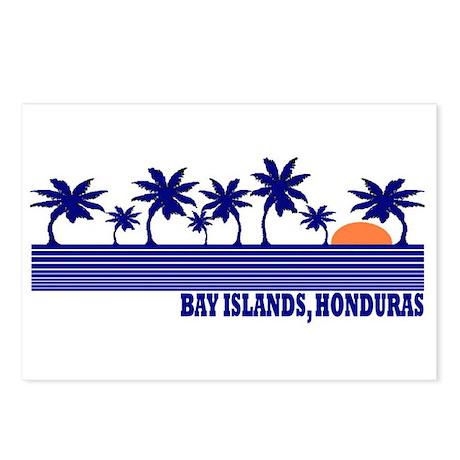 Bay Islands, Honduras Postcards (Package of 8)