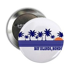 "Bay Islands, Honduras 2.25"" Button"