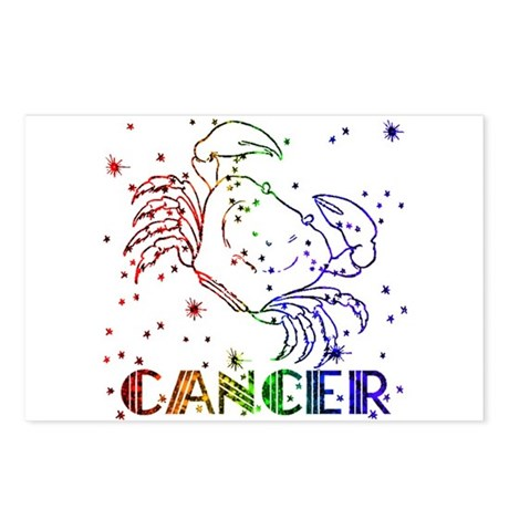 CANCER SKIES Postcards (Package of 8)