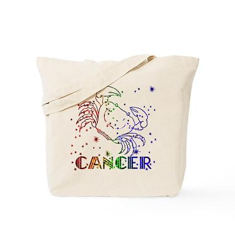 CANCER SKIES Tote Bag