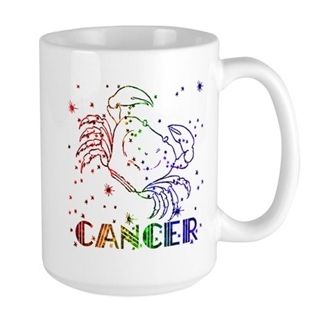 CANCER SKIES Large Mug