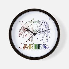 ARIES SKIES Wall Clock