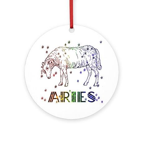 ARIES SKIES Ornament (Round)