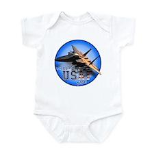 Daddy USAF Pilot (F-15)bc  Infant Bodysuit