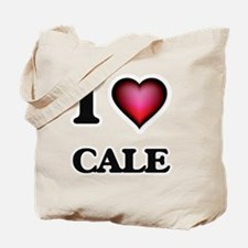I love Cale Tote Bag