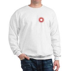 Red Sunburst Sweatshirt