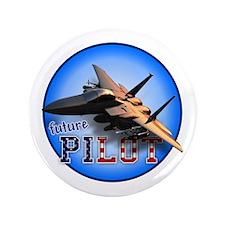 "future pilot (F-15 Eagle) 3.5"" Button"