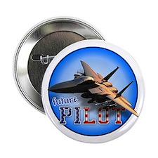 "future pilot (F-15 Eagle) 2.25"" Button"