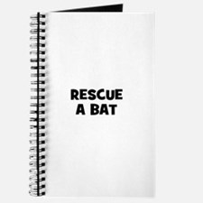 rescue a bat Journal