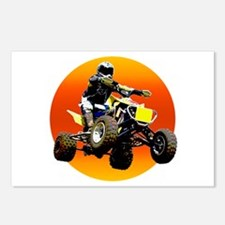 ATV Racing to Sunset Postcards (Package of 8)